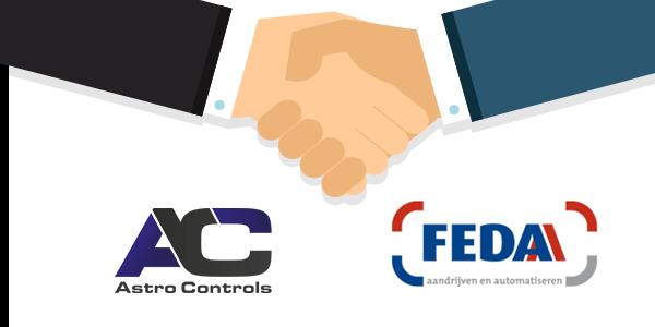Astro Controls per 1 april lid van de FEDA
