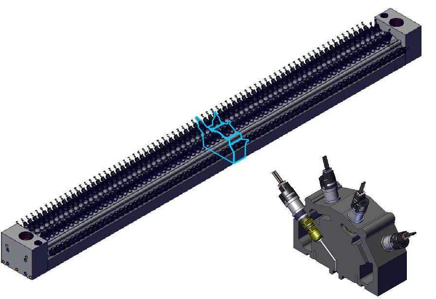 MAC Bullet Valve sorteerbalk